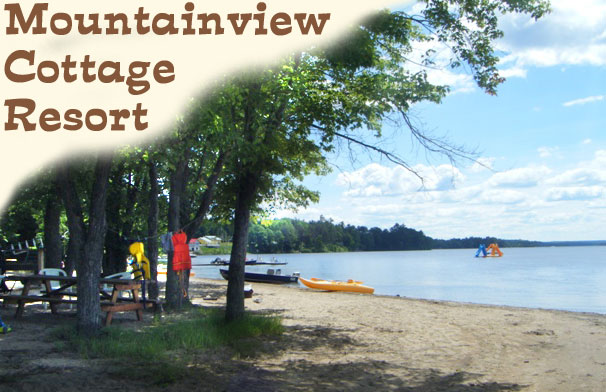 mountainview cottage resort on golden lake ontario
